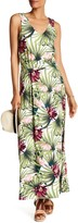 Tommy Bahama Sleeveless Floral Print Maxi Dress
