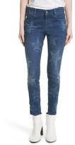 Stella McCartney Women's Skinny Ankle Grazer Star Jeans