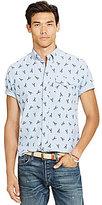 Polo Ralph Lauren Lobster Print Short-Sleeve Woven Shirt