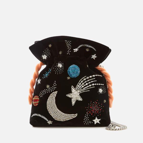 Les Petits Joueurs Women's Trilly Universe Bag - Black