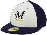 New Era Milwaukee Brewers Low Profile Diamond Era 59FIFTY Cap