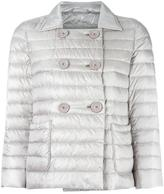 Herno double-breasted jacket - women - Feather Down/Polyamide - 40