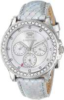 Juicy Couture Women's 1901063 Pedigree Metallic Leather Strap Watch