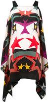Elie Saab star print top - women - Silk/Polyester - 38