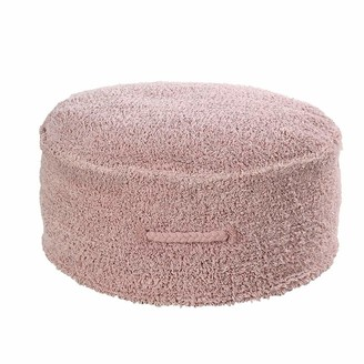 Lorena Canals Nude Cotton Pouf For The Bedroom