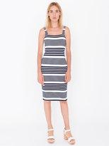 American Apparel Printed Ponte Tank Dress