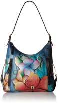 Anuschka Anna By Anna by Hand Painted Leather Women's Shoulder HOBO