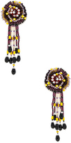 Etro Disco Fringe Earrings