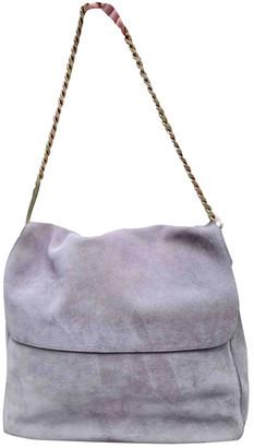 Celine Gourmette Grey Suede Handbags