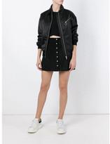 Alexander Wang A-line buttoned skirt