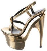 Versace Medusa Platform Sandals