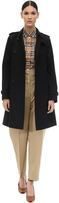 Burberry Kensington Long Cotton Knee Coat
