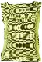 Issey Miyake wave pleat sleeveless top - women - Polyester - 2