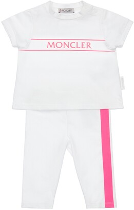 Moncler Cotton Jersey T-Shirt & Pants