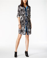 Tommy Hilfiger Floral-Print Shirtdress, Only at Macy's