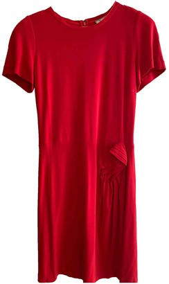 Issa Red Silk Dress for Women