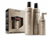 Nioxin System 5 Kit with Cleanser 300 ml + Therapy 150 ml + Treatment 100 ml, 2 Count