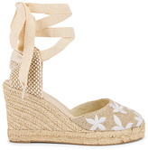 Soludos Floral Classic Wedge