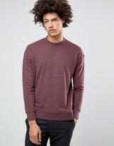 Selected Dropped Shoulder Brushed Sweatshirt