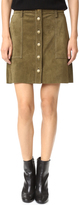 Current/Elliott The Suede Naval Skirt