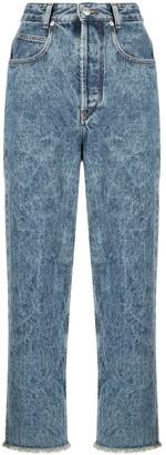 Etoile Isabel Marant Cropped Denim Jeans