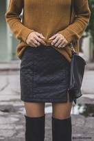Forever 21 Quilted Mini Skirt