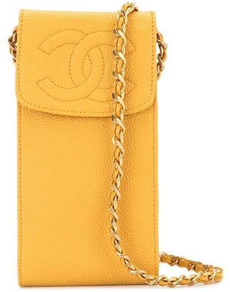 Chanel Pre Owned 1995 CC phone case