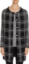 Sanctuary Plaid Knit Coat