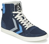 Hummel TEN STAR DUO CANVAS HIGH Blue