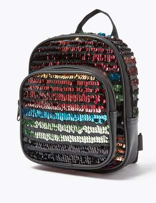 Marks and Spencer Kids Sequin Mini Backpack
