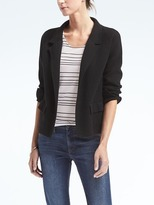 Banana Republic Milano Stitch Short Blazer