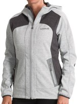 Avalanche Wear Heather Hooded Soft Shell Jacket - Windproof (For Women)