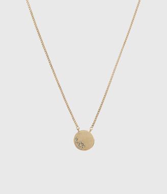 AllSaints Astrid Gold-Tone Necklace