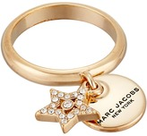 Marc Jacobs MJ Coin Charm Ring Ring