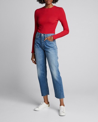 RE/DONE 60s Long-Sleeve Bodysuit