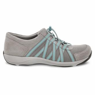 Dansko Women's Honor Sneaker Stone Suede 42 M EU (11.5-12 US)