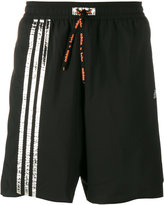 adidas stripe track shorts - men - Polyamide/Polyester - XL