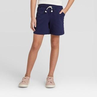 Cat & Jack Girls' Knit Midi Shorts - Cat & JackTM