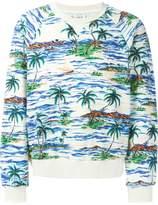 Faith Connexion palm print sweater