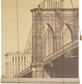 Oriental Furniture Brooklyn Bridge Bamboo Window Blinds