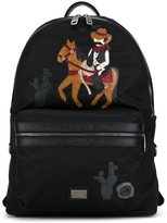 Dolce & Gabbana 'Vulcano' cowboy patch backpack