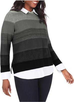 Foxcroft Sanders Layered Sweater
