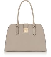 Furla Sabbia Milano Medium Leather Tote Bag