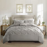 JCPenney Madison Park Ella 4-pc. Cotton Percale Duvet Cover Set