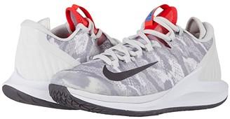 Nike Court Air Zoom Zero HC (Platinum Tint/Thunder Grey/Laser Crimson) Women's Shoes