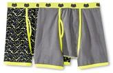 Intimo Boys' Dreamworks Dragon 2-Pack Boxer Briefs - Black/Yellow