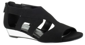 Easy Street Shoes Abra Wedge Sandals Women's Shoes