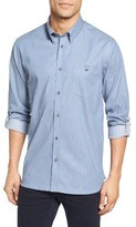 Ted Baker Men's Jestie Extra Trim Fit Roll Sleeve Sport Shirt
