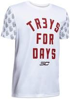 Under Armour Boys' Treys for Days Tee - Sizes S-XL