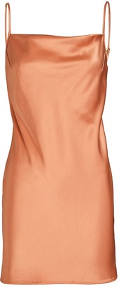 Nanushka Lotti Satin Mini Slip Dress